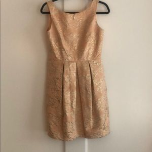 Gorgeous Brocade pink and gold dress